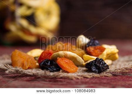 Dried Fruits On A Table