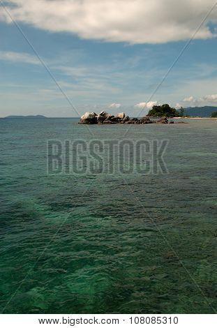 Malaysia , Tioman Island.vertical View.