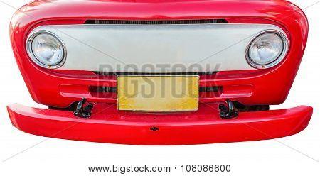 Headlights Isolate On White Background