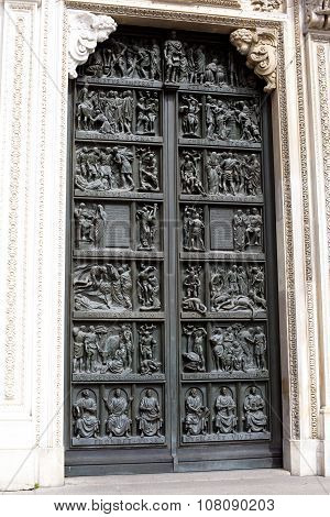 Milan Cathedral Door