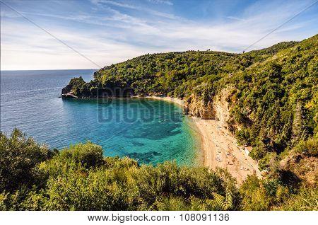 Mogren Beach In Montenegro