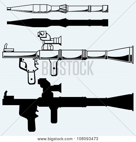 Anti-tank rocket propelled grenade launcher - RPG 7