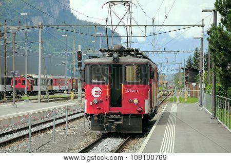 The Electric Locomotive.