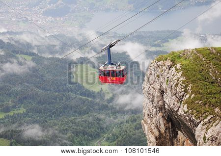 Swiss Cable Car.