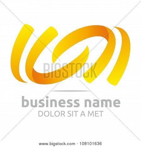 Design Logo Letter Abstract