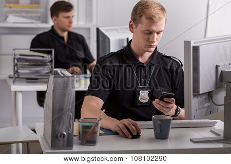 Working For The Police