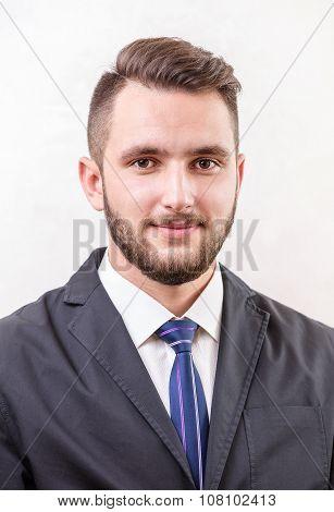 Caucasian young man