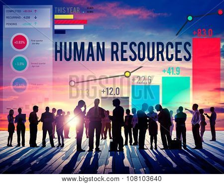 Human Resources Career Hiring Profession Concept