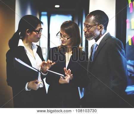 Business Team Corporate Organization Working Concept