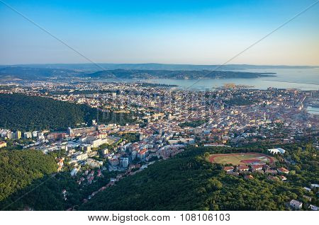 Aerial View On Trieste