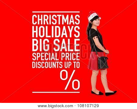 Christmas Holidays Sale Template
