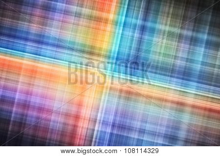 Abstract Digital Background, Colorful Blurred Stripes
