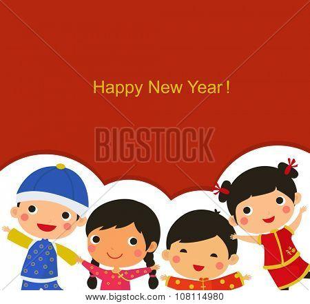 Chinese New Year Greetings_children