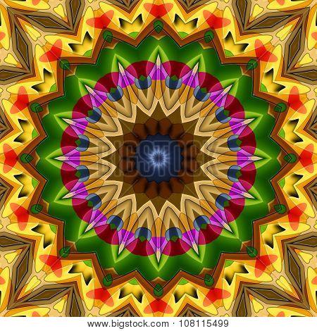 16 Elements Sunny Kaleidoscope
