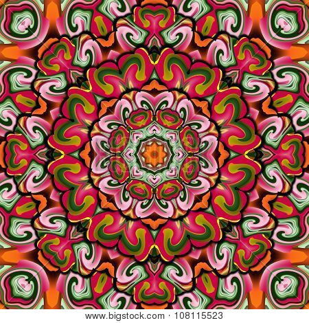 Mythical Symbol Kaleidoscope