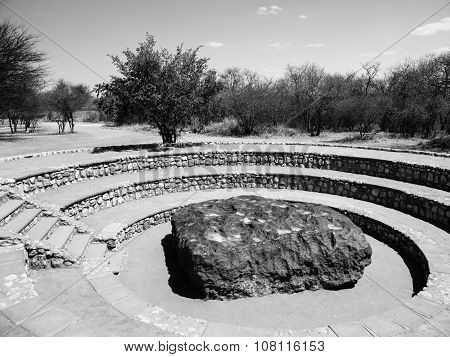 Hoba meteorite found in Namibia