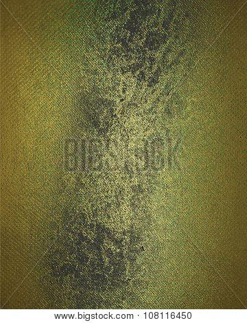 Dark Yellow Grunge Textured