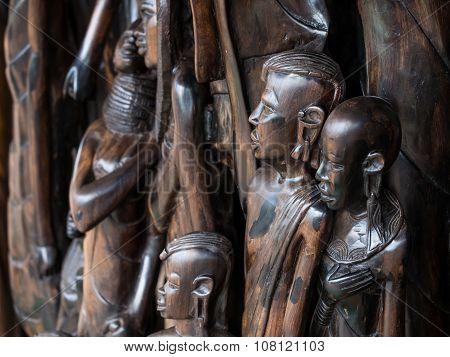 African Wood Sculptures