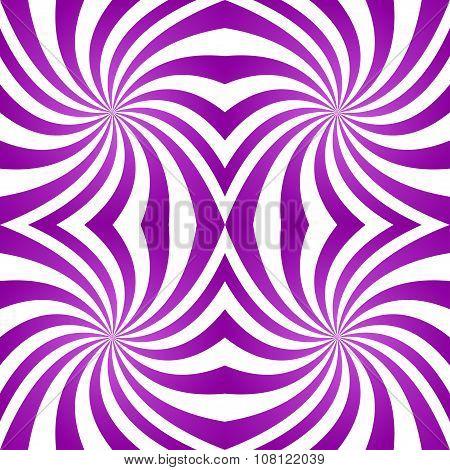 Seamless purple twirl pattern background