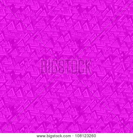 Magenta seamless triangle pattern background