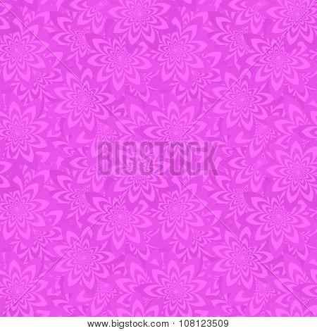 Magenta seamless floral pattern background