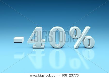 -40% Significant Discounts For The Goods And Services. Dumping