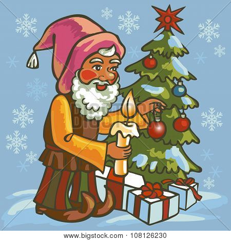 Gnome Dress Up Christmas Tree