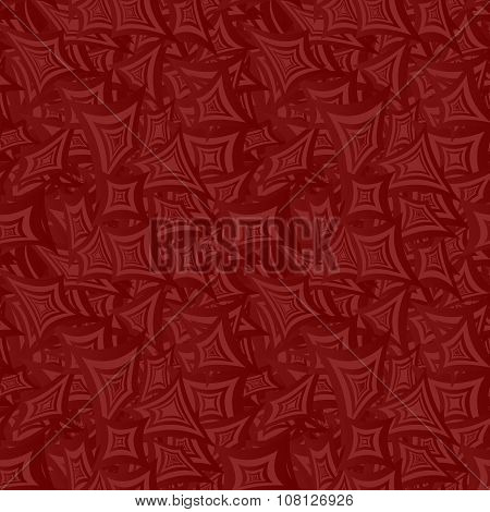 Maroon seamless curved rectangle pattern background