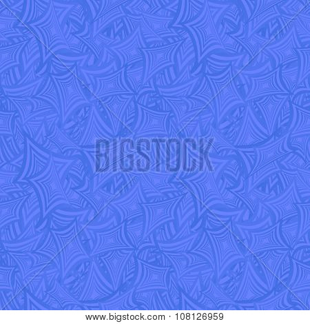 Azure seamless curved rectangle pattern background