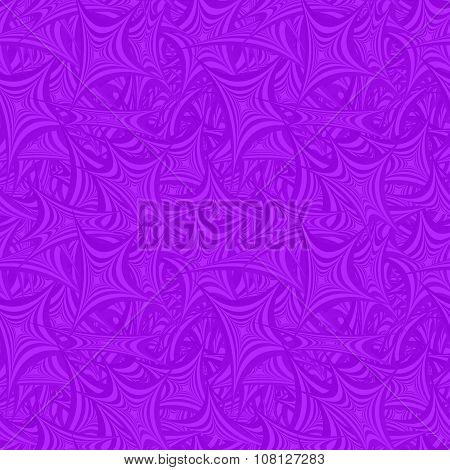 Violet seamless asymmetric star pattern background