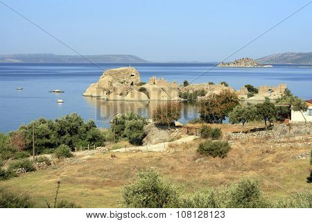 Bafa Lake Landscape With Great Nature - Aydin - Turkey