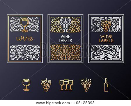 Wine Packaging Design Template