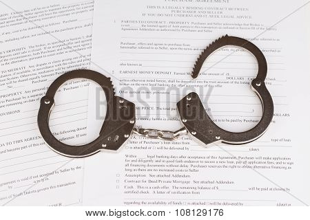 Handcuffs And Purchase Agreement