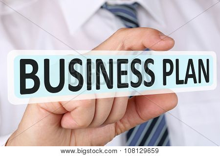 Businessman Business Plan Concept For Start Up Company Founding