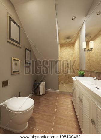 Bathroom Mediterranean Design