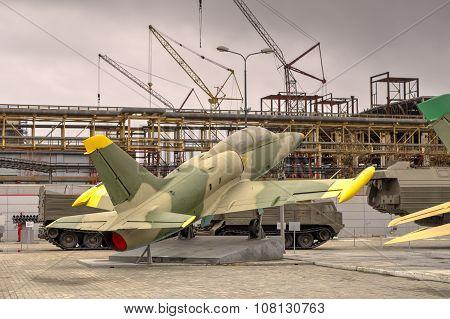 The Jet Training Aircraft L-39 Aero Albatros