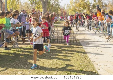 Traditional cross for children which took place in Sant Cugat del Valles Spain .