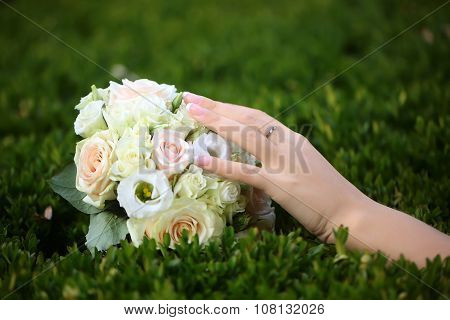 Wedding Bouquet Outdoor