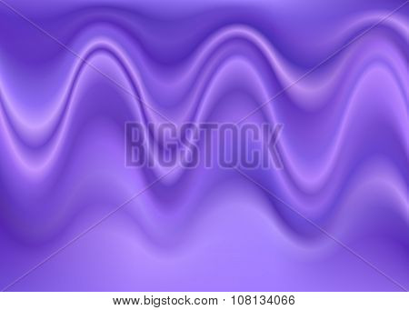 Purple abstract wrinkled wave background