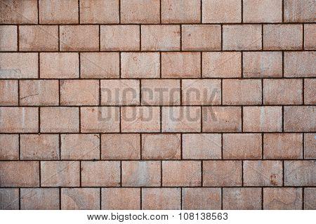 High Resolution Brown Cream Brick Wall Texture