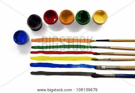 Palette Colors And Paints