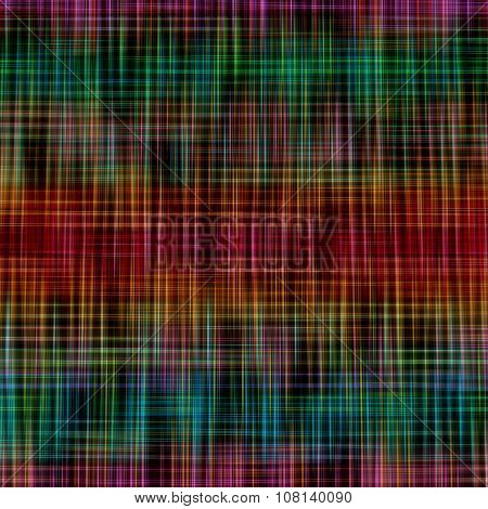 Multicolored Striped Pattern As Abstract Background.