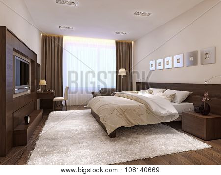 Bedroom Interior Minimalism Style