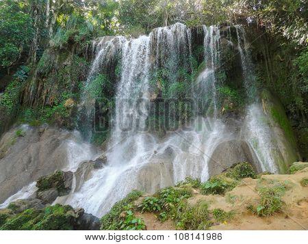 Waterfall In Cuba