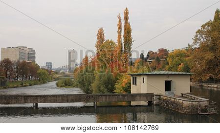 Colors Of Autumn In Zurich