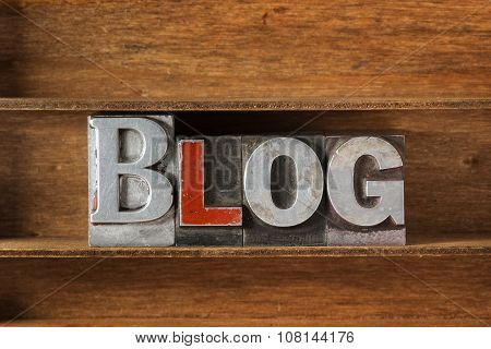 Blog Word From Metal Letters