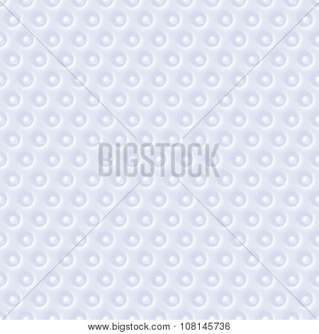 Vector white blue abstract relief geometric seamless pattern texture background