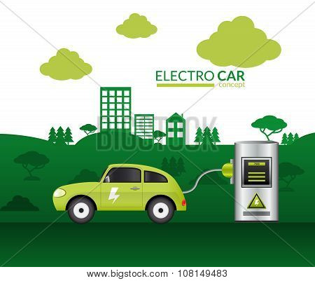 Electric Car Print