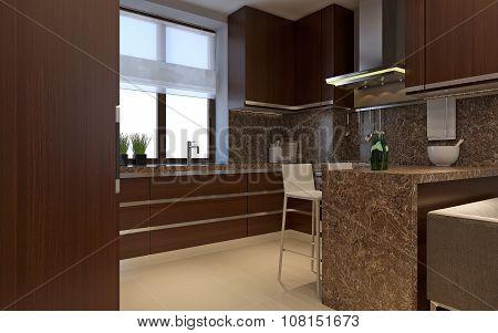 Kitchen Minimalism Style