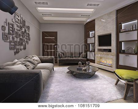 Living Room Minimalism Style